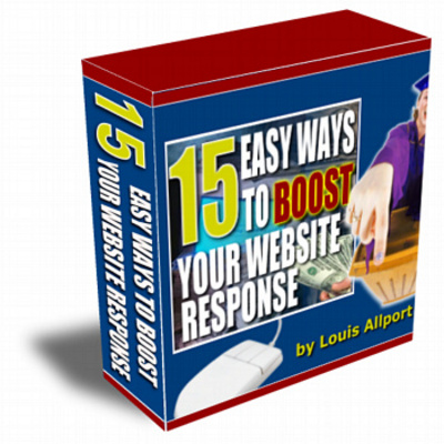 Product picture 15 Ways To Boost Website Response